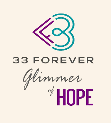 """Glimmer of Hope"" – 33 Forever Podcast – Featuring Chris Kelly's Story of Survival and Resilience"