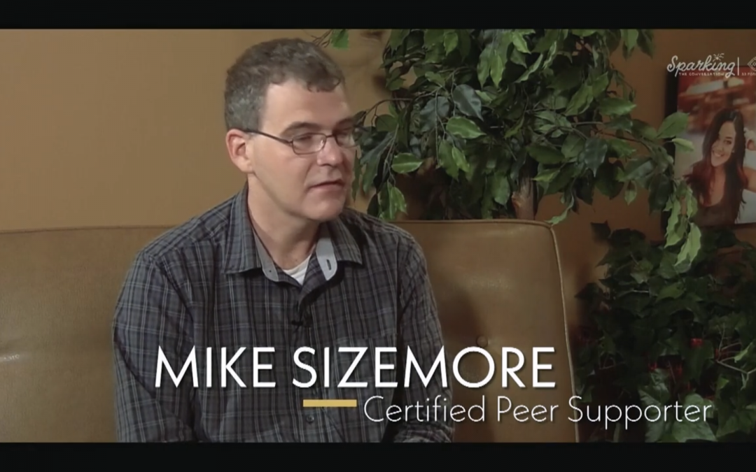 """Episode 14 of """"Sparking the Conversation,"""" Features Mike Sizemore, OCD Advocate, Discussing His Story and Hope for Those Struggling"""